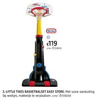 Little tikes basketbalset easy store-Little Tikes