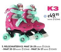 Rolschaatsen k3-K3