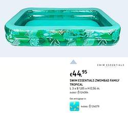 Swim essentials zwembad family tropical