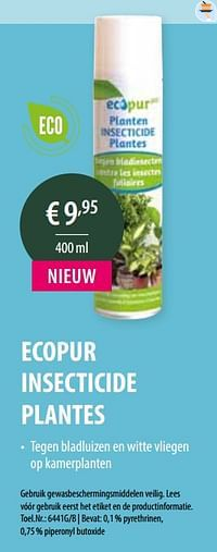 Ecopur insecticide plantes-BSI
