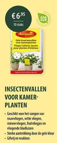 Insectenvallen voor kamerplanten-Aeroxon