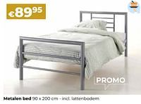 Metalen bed-Huismerk - Euroshop