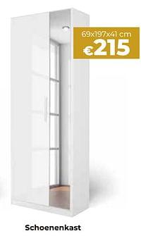 Schoenenkast-Huismerk - Euroshop
