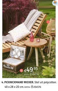 Picknickmand wicker-Huismerk - Dreamland