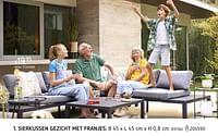 Sierkussen gezicht met franjes-Huismerk - Dreamland