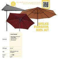 Halve parasol-Huismerk - Dreamland
