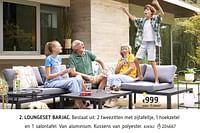 Loungeset barjac-Huismerk - Dreamland