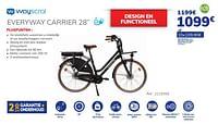 Wayscral everyway carrier 28``-Wayscrall