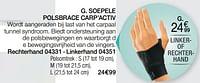 Soepele polsbrace carp`activ-Epitact