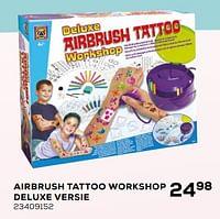 Airbrush tattoo workshop deluxe versie-Creative