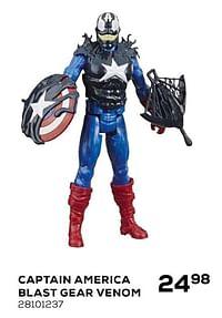 Captain america blast gear venom-Hasbro