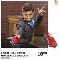 Spider-man power moves role speelset-Hasbro