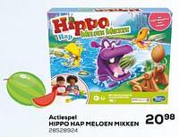 Actiespel hippo hap meloen mikken-Hasbro