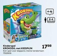 Kinderspel krokodil met kiespijn-Hasbro