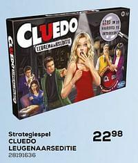 Strategiespel cluedo leugenaarseditie-Hasbro