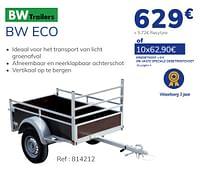 Bw eco-BW Trailers