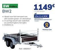 Bw2-BW Trailers