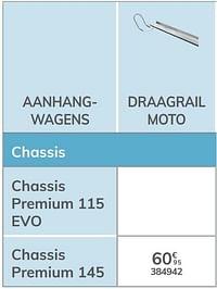 Draagrail moto chassis premium 145-Norauto