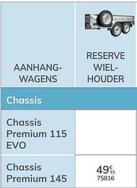 Reserve wielhouder chassis premium 145-Norauto