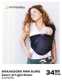Draagdoek mini sling-MiniMonkey