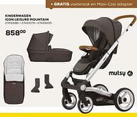 Kinderwagen icon leisure mountain-Mutsy