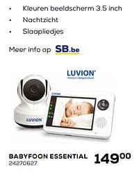 Luvion babyfoon essential-Luvion