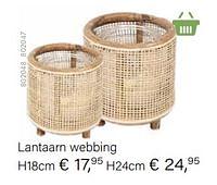 Lantaarn webbing-Huismerk - Multi Bazar