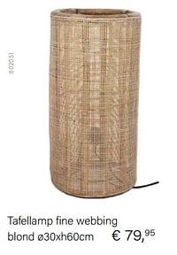 Tafellamp fine webbing-Huismerk - Multi Bazar