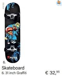 Skateboard 31 inch graffiti-Maple Leaf