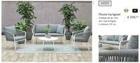 Fleurie loungeset-Garden Impressions
