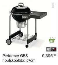 Weber performer gbs houtskoolbbq 57cm-Weber