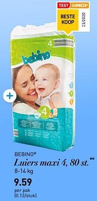 Luiers maxi 4-Bebino