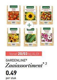 Zaaiassortiment-Garden line