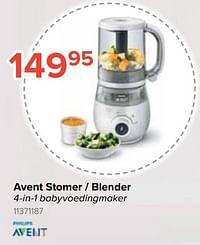 Avent stomer - blender-Avent