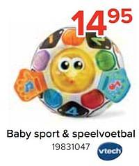 Baby sport + speelvoetbal-Vtech