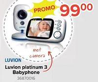 Luvion platinum3 babyphone-Luvion