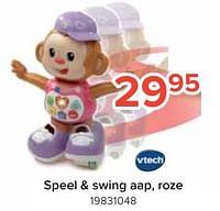 Speel + swing aap, roze-Vtech