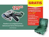 Bosch haakse accuslijpmachine, advanced grind 18 baretool-Bosch