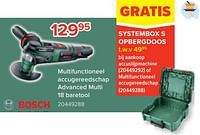 Bosch multifunctioneel accugereedschap advanced multi 18 baretool-Bosch