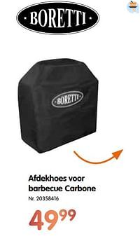 Afdekhoes voor barbecue carbone-Boretti
