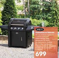 Gasbarbecue robusto-Boretti