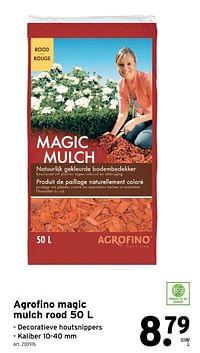 Agrofino magic mulch rood-Agrofino