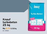 Knauf turbobeton-Knauf