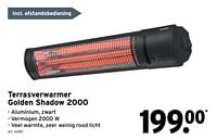 Terrasverwarmer golden shadow 2000-Huismerk - Gamma