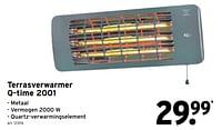 Terrasverwarmer q-time 2001-Huismerk - Gamma