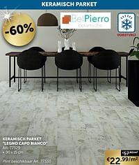 Keramisch parket legno capo bianco-BelPiero