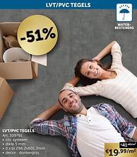 Lvt-pvc tegels-Huismerk - Zelfbouwmarkt