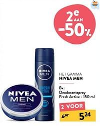 Deodorantspray fresh active-Nivea