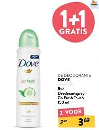 Deodorantspray go fresh touch-Dove