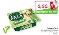 Come a casa lasagne vegetariana-Come a Casa